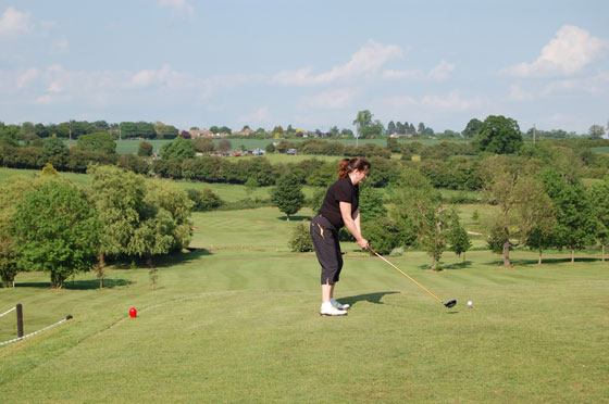 Hole 10 Golf Course Rugby Warwickshire